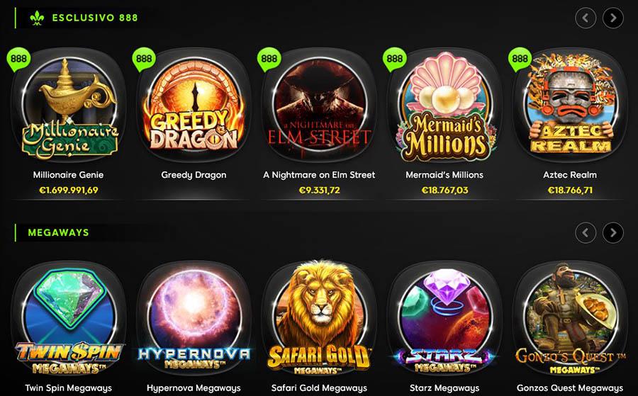 Giochi 888 Casino