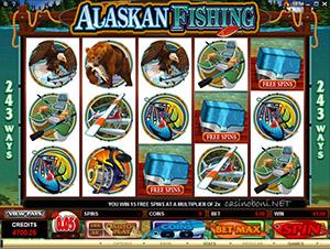 slot Alaskan Fishing gratis