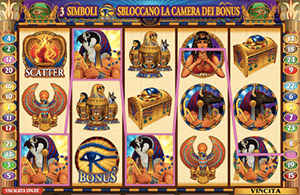 Slot Throne of Egypt gratis
