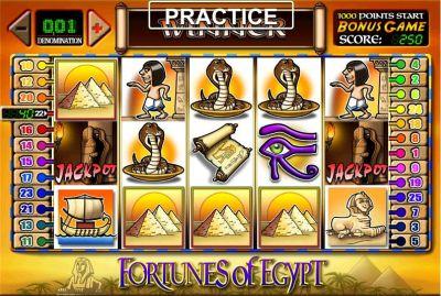 Slot Fortune Of Egypt gratis