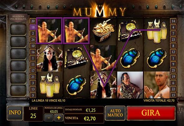 Slot The Mummy Gratis