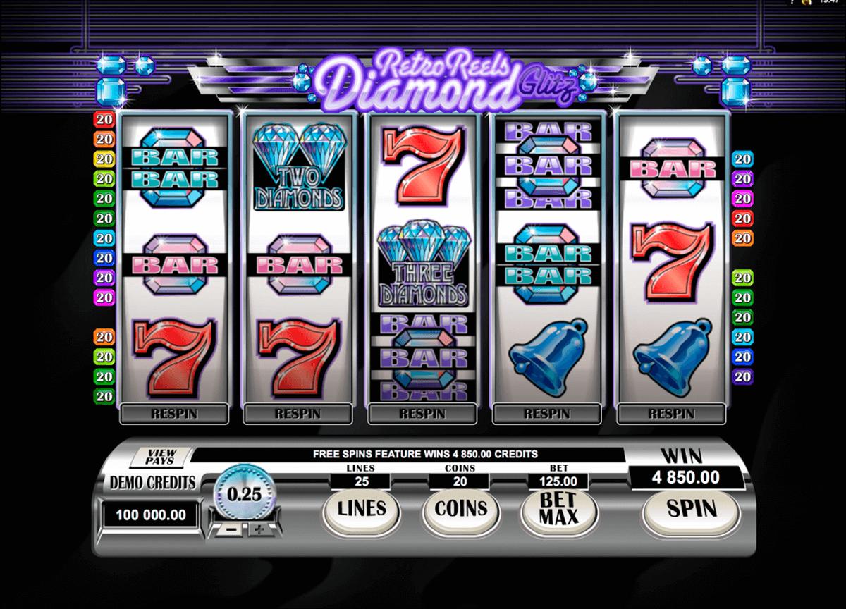 Slot Retro Reels Diamond Glitz