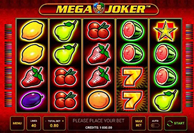 Slot Mega Joker