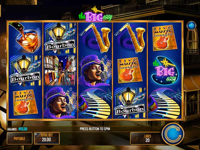 Slot The Big Easy online