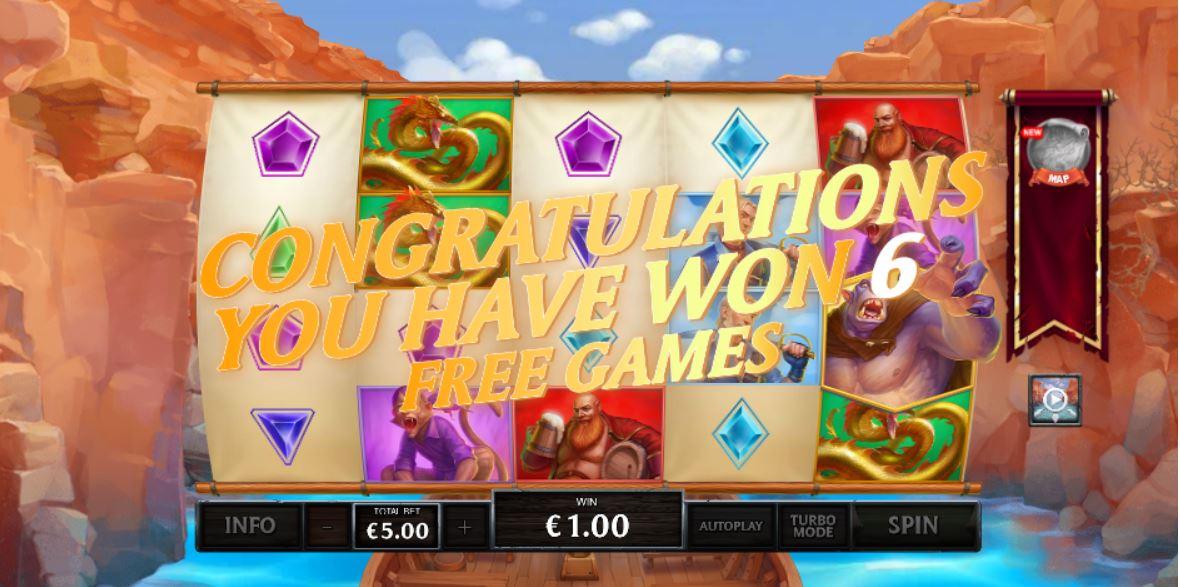Slot Chasm of Fear bonus game