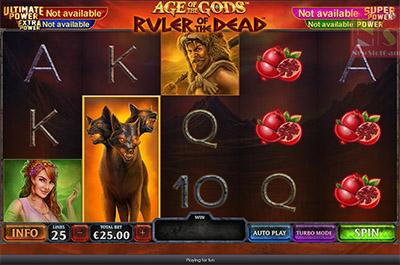Age of the Gods: Ruler of the Dead bonus