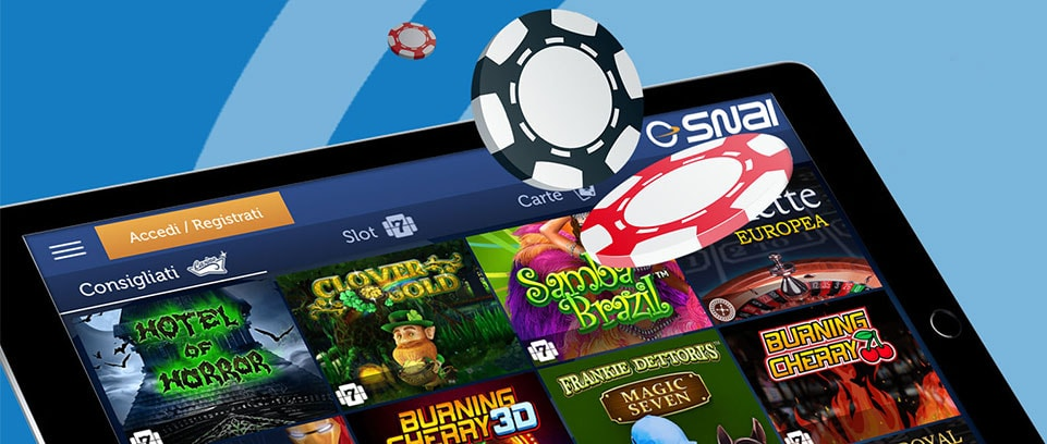 Snai Casino Lobby