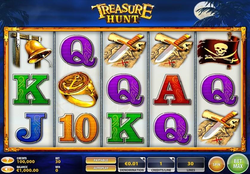 Slot Treasure Hunt Gratis