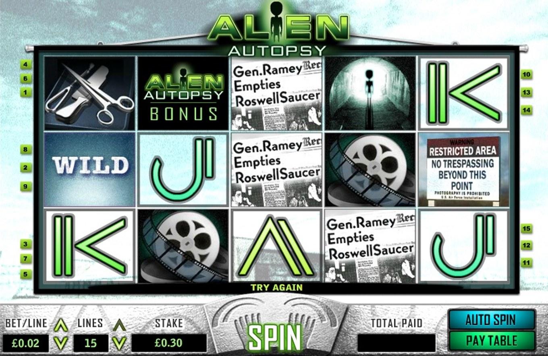 slot Alien Autopsy