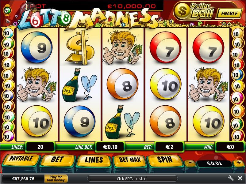 slot Lotto Madness