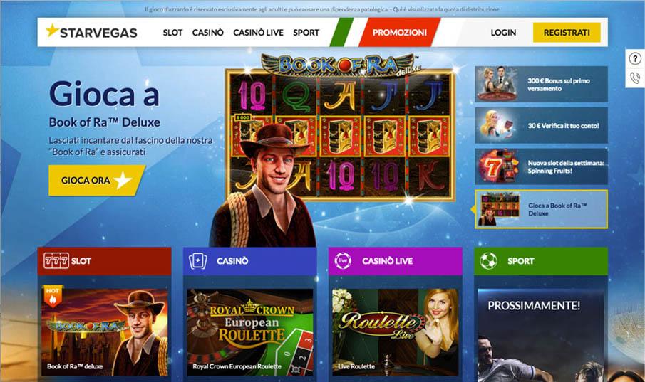 Starvegas Casino Lobby