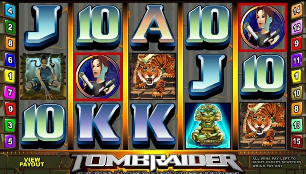 slot tomb raider