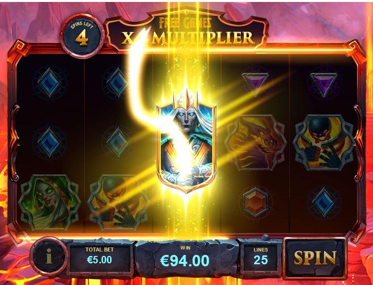 Slot Legion Uprising bonus