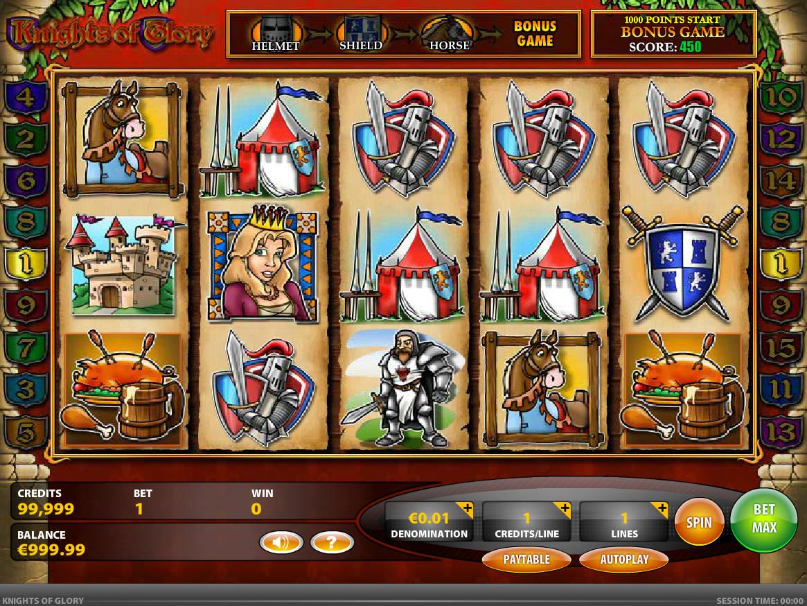 slot Knights Of Glory gratis